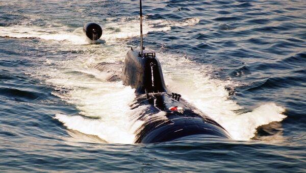 Un submarino nuclear (imagen referencial) - Sputnik Mundo