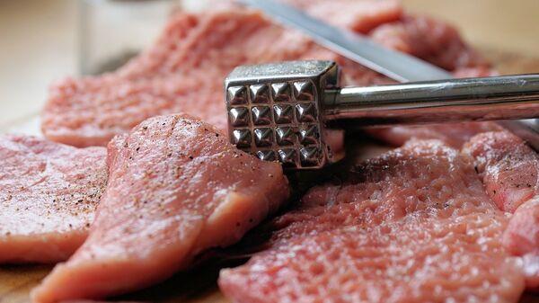 Carne, imagen referencial - Sputnik Mundo