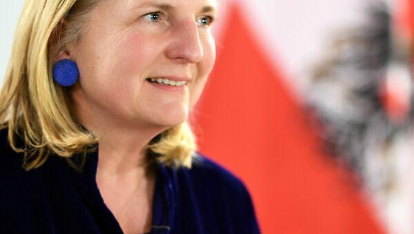 Karin Kneissl, Ministra de las Relaciones Exteriores de Austria - Sputnik Mundo