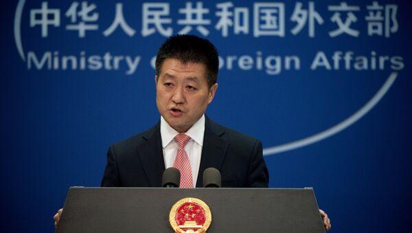 Lu Kang, portavoz del Ministerio chino de Exteriores - Sputnik Mundo