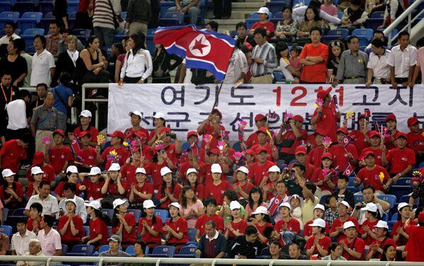 Animadoras norcoreanas (archivo) - Sputnik Mundo