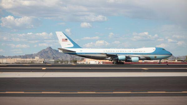 Air Force One, avión presidencial estadounidense - Sputnik Mundo