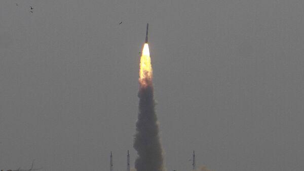 Lanzamiento de un satélite indio Cartosat-2 (archivo) - Sputnik Mundo