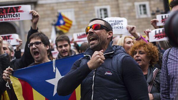 Protestas en Cataluña (archivo) - Sputnik Mundo