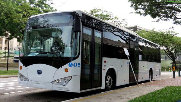 Autobus eléctrico BYD - Sputnik Mundo