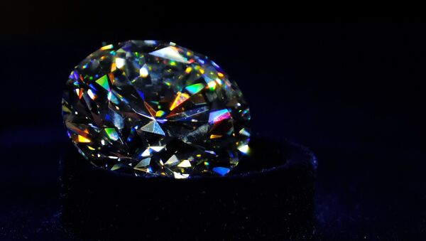Un diamante (archivo) - Sputnik Mundo