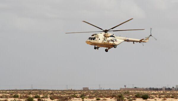 Un helicóptero MI17 (imagen referencial) - Sputnik Mundo