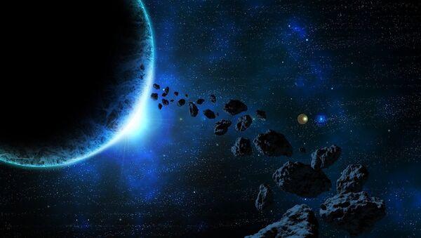 Asteroides (imagen referencial) - Sputnik Mundo