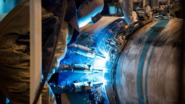 La construcción del gasoducto Turk Stream - Sputnik Mundo