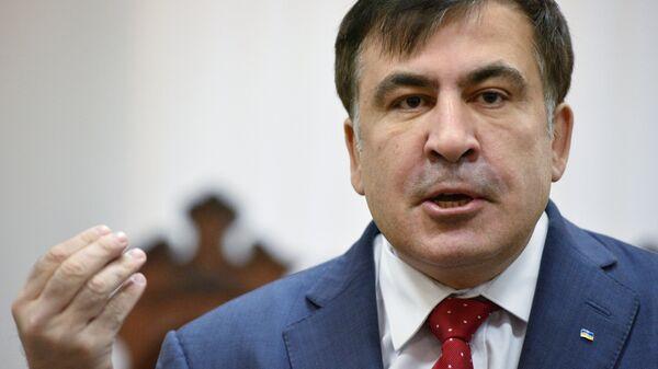 Mijaíl Saakashvili, expresidente de Georgia y exgobernador de la región ucraniana de Odesa - Sputnik Mundo