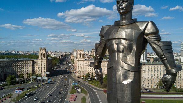 Un monumento al primer hombre que voló al espacio, Yuri Gagarin - Sputnik Mundo