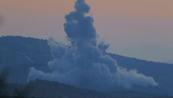 Operación de Turquía en Afrín (archivo) - Sputnik Mundo