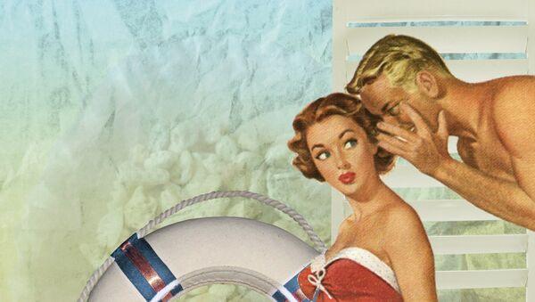 Un anuncio antiguo, imagen referencial - Sputnik Mundo