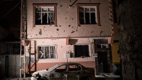 Consecuencias del ataque en Kilis, Turquía - Sputnik Mundo