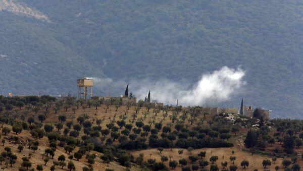 Afrín, Siria, tras un ataque del Ejército turco - Sputnik Mundo