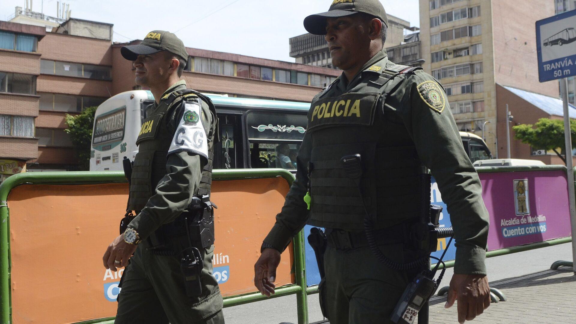Policía colombiana (Archivo) - Sputnik Mundo, 1920, 07.08.2021
