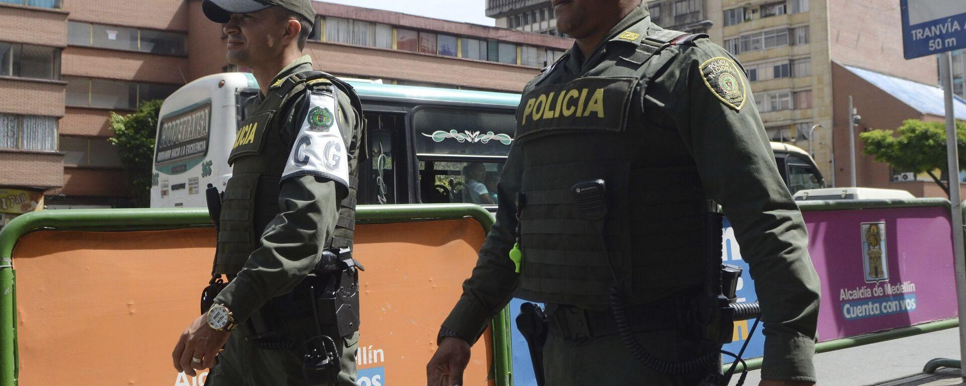 Policía colombiana (Archivo) - Sputnik Mundo, 1920, 12.03.2021