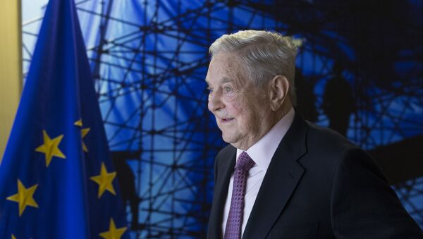 George Soros, magnate estadounidense - Sputnik Mundo