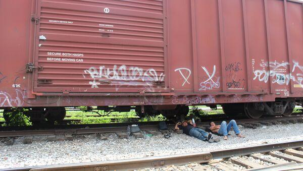 Migrantes en México (archivo) - Sputnik Mundo