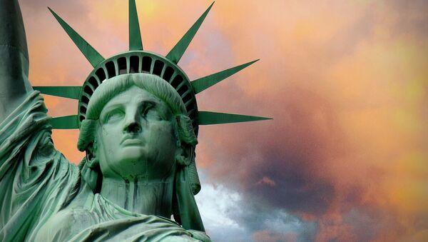 Estatua de la libertad en Nueva York (imagen referencial) - Sputnik Mundo