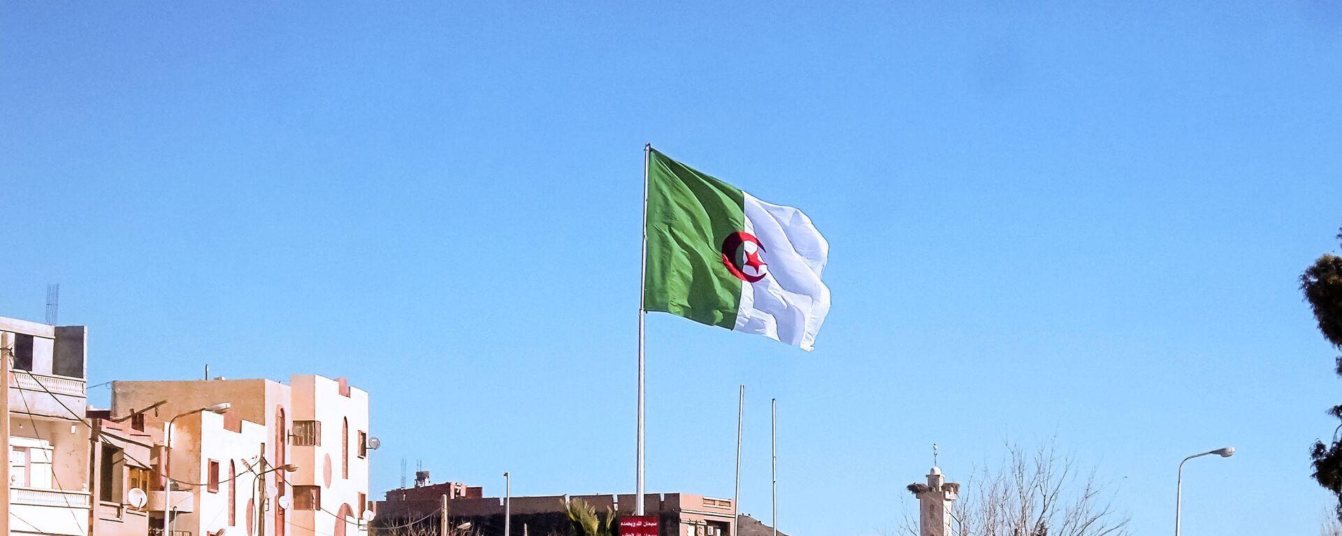 La bandera de Argelia - Sputnik Mundo, 1920, 06.09.2021