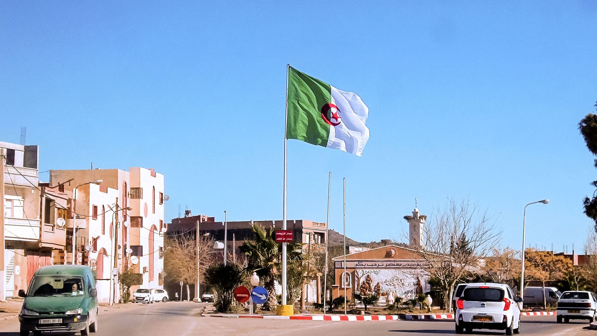 La bandera de Argelia - Sputnik Mundo, 1920, 11.10.2021