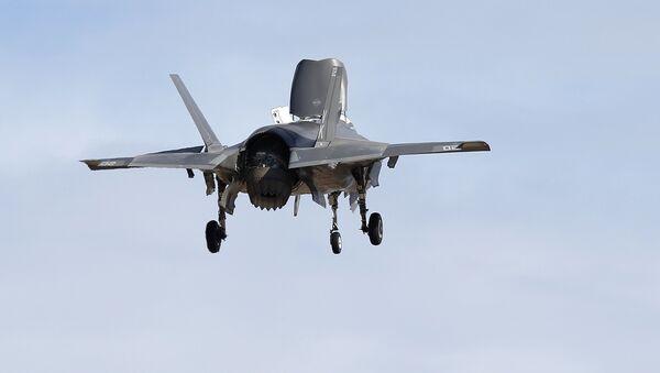 F-35B, versión naval del F-35 del Cuerpo de Marines de EEUU - Sputnik Mundo