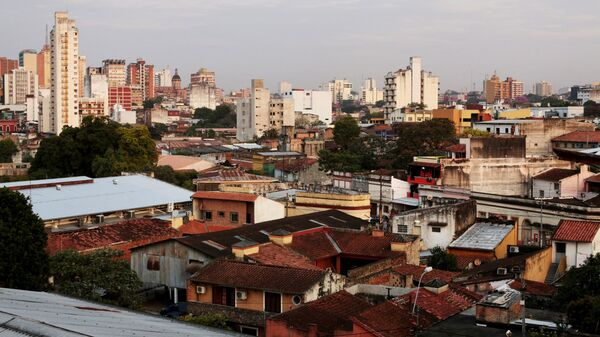 Asunción, la capital paraguaya - Sputnik Mundo