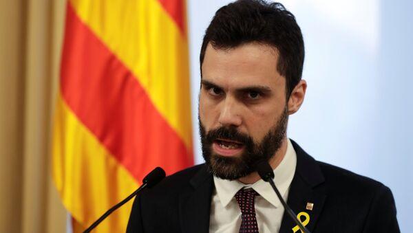 Roger Torrent, presidente del Parlamento de Cataluña - Sputnik Mundo