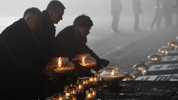 En el 73 aniversario de la liberación del campo de concentración Auschwitz, Polonia - Sputnik Mundo