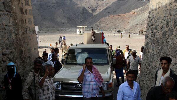 Situación en la ciudad yemení de Adén - Sputnik Mundo