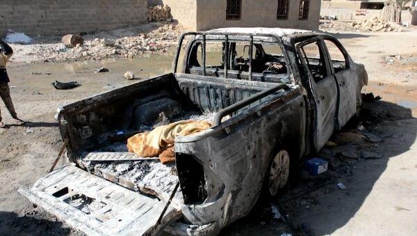 Iraquíes exigen que EEUU se retire de su país tras un ataque 'erróneo' contra civiles - Sputnik Mundo
