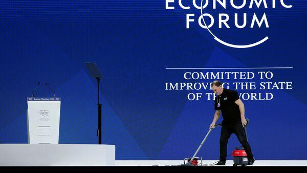 La preparación para el Foro Económico Mundial en Davos - Sputnik Mundo