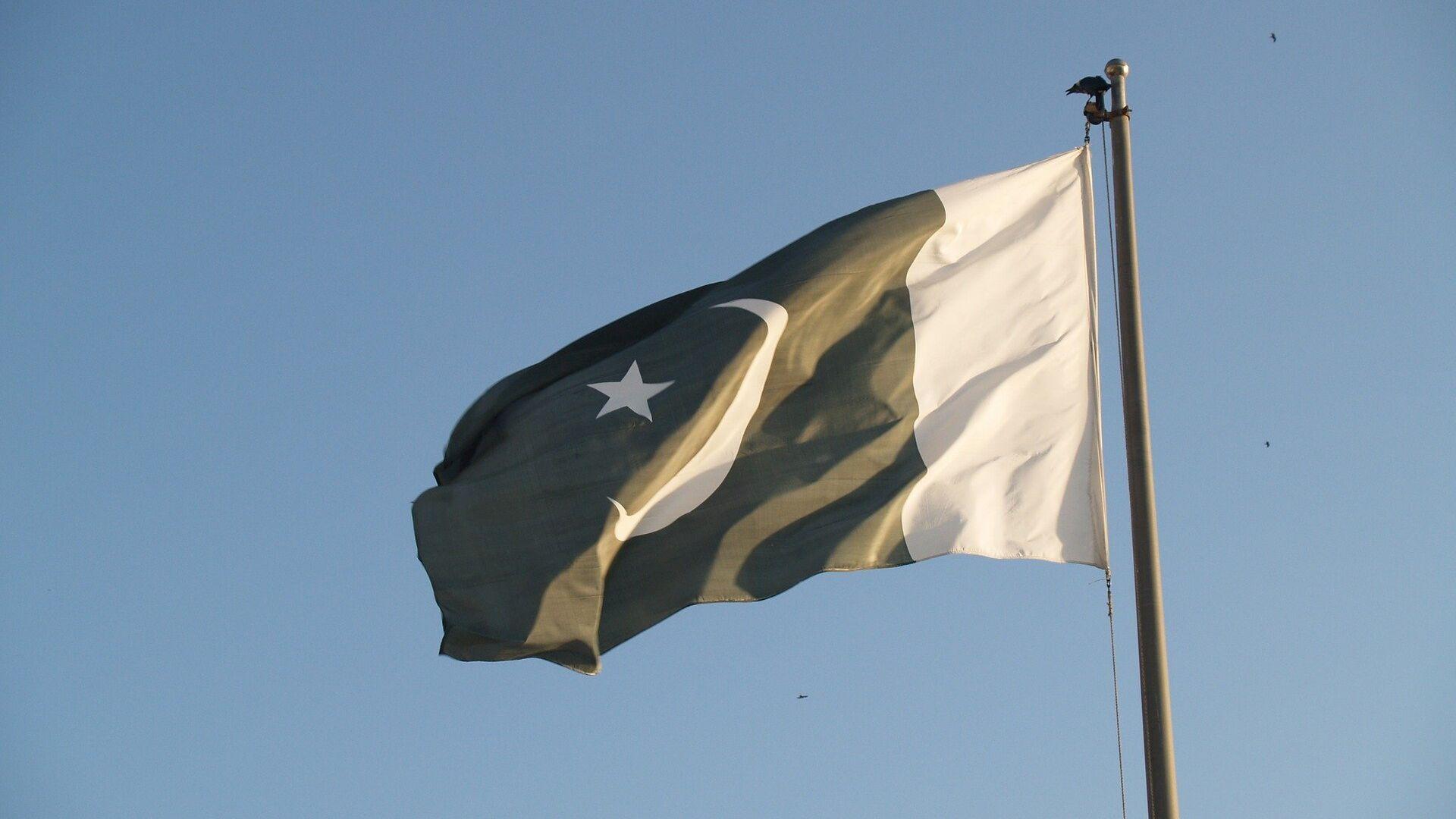 La bandera de Pakistán - Sputnik Mundo, 1920, 20.09.2021