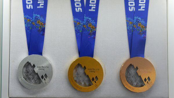 Medallas olímpicas de JJOO 2014 en Sochi - Sputnik Mundo