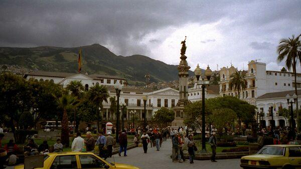 Quito, la capital de Ecuador - Sputnik Mundo
