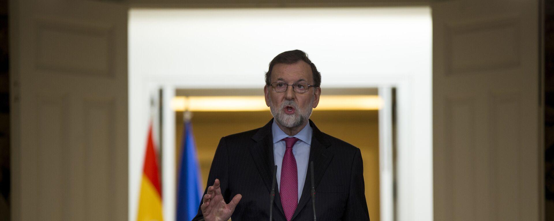 Mariano Rajoy, el presidente del Gobierno español - Sputnik Mundo, 1920, 08.02.2021