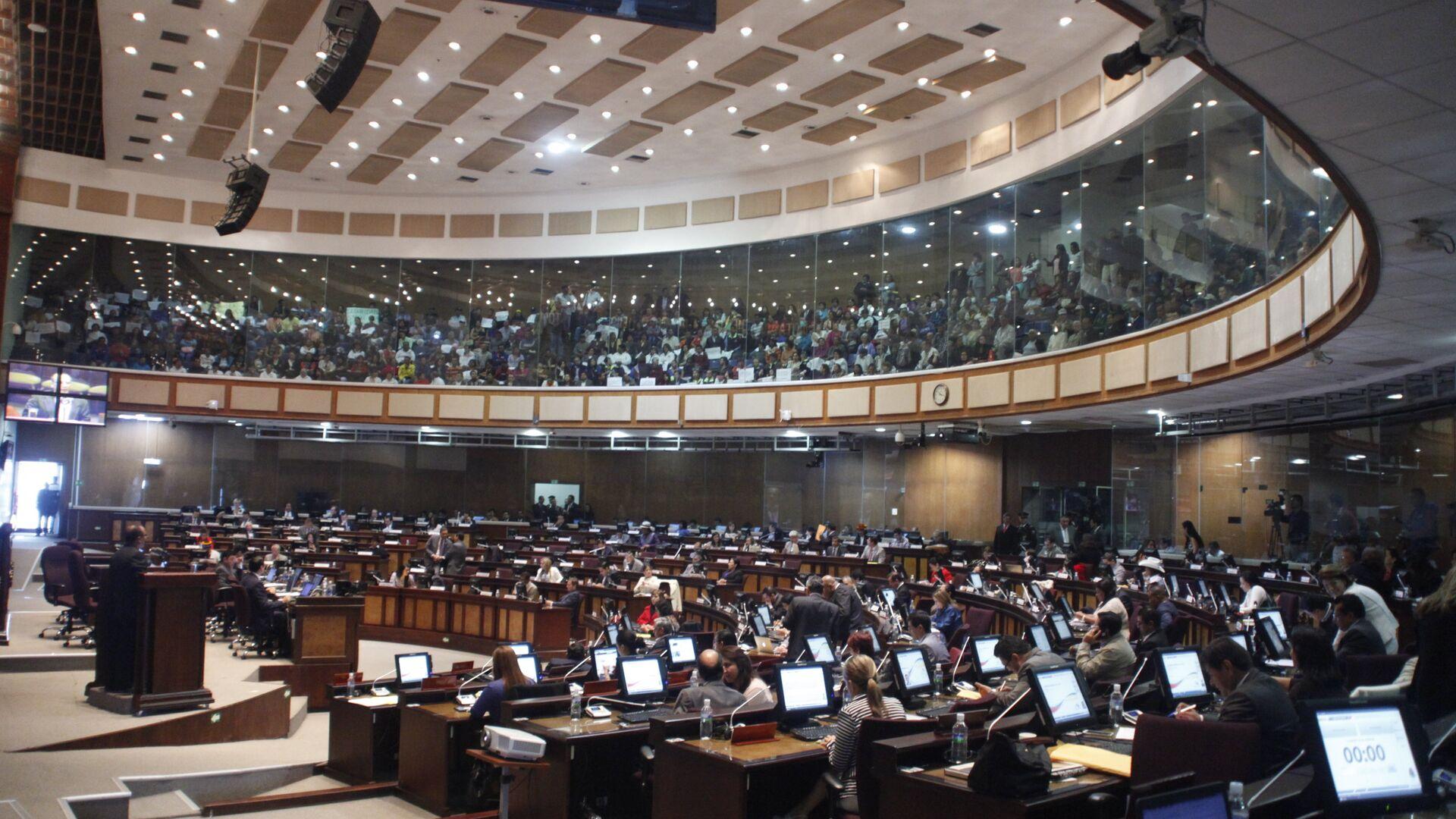 La Asamblea Nacional de Ecuador (archivo) - Sputnik Mundo, 1920, 12.02.2021