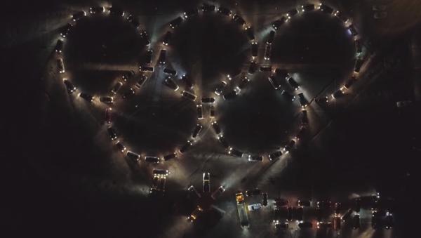 Así animan estos motoristas de Kaliningrado a sus atletas en Pyeongchang - Sputnik Mundo