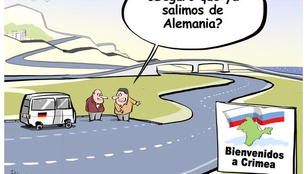 Los políticos alemanes llegan a Crimea y se quedan  boquiabiertos - Sputnik Mundo