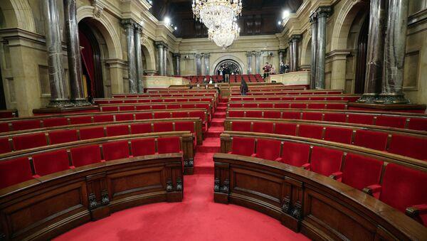 El Parlamento de Cataluña - Sputnik Mundo