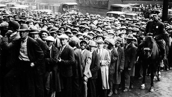Gente sin empleo en Cleveland, Ohio - Sputnik Mundo