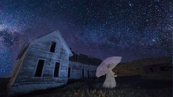 Una niña fantasma, imagen ilustrativa - Sputnik Mundo