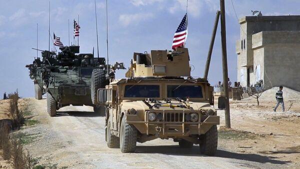 Militares de EEUU en Siria - Sputnik Mundo