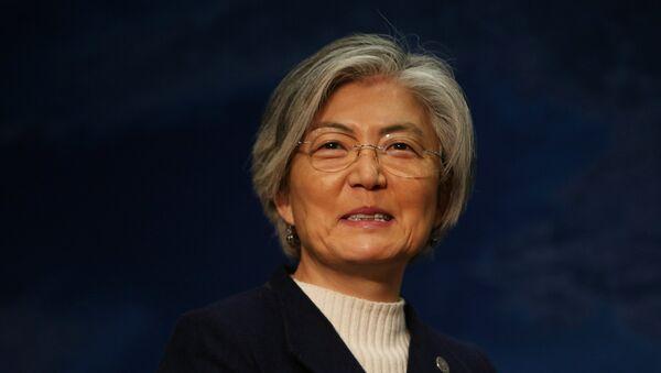 Kang Kyung-wha, ministra de Asuntos Exteriores de Corea del Sur - Sputnik Mundo