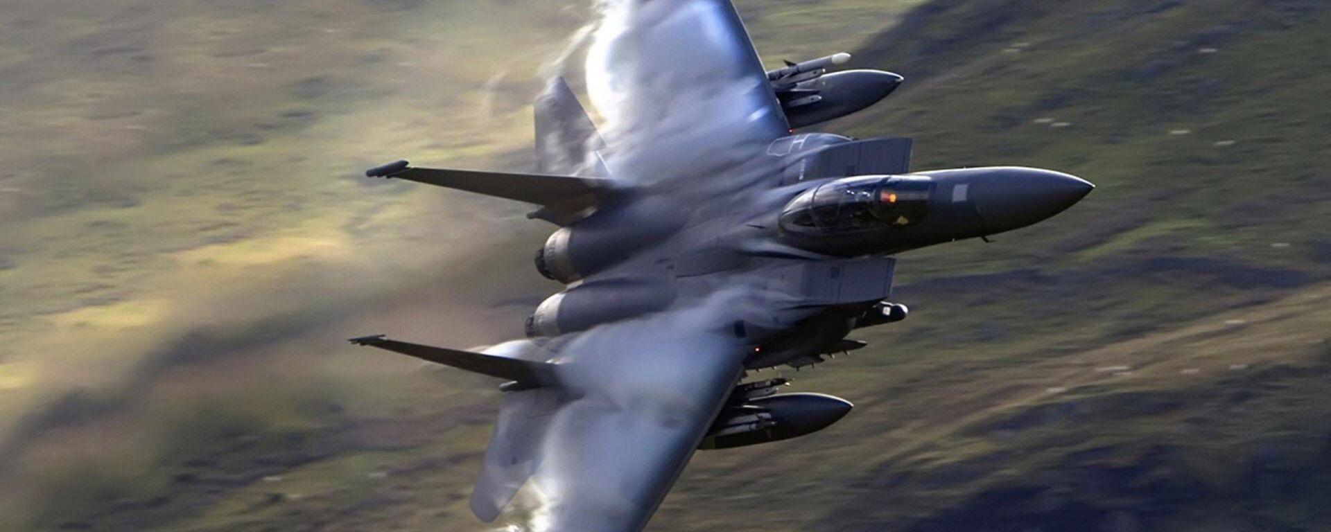 Un caza F-15 (imagen referencial) - Sputnik Mundo, 1920, 09.02.2021