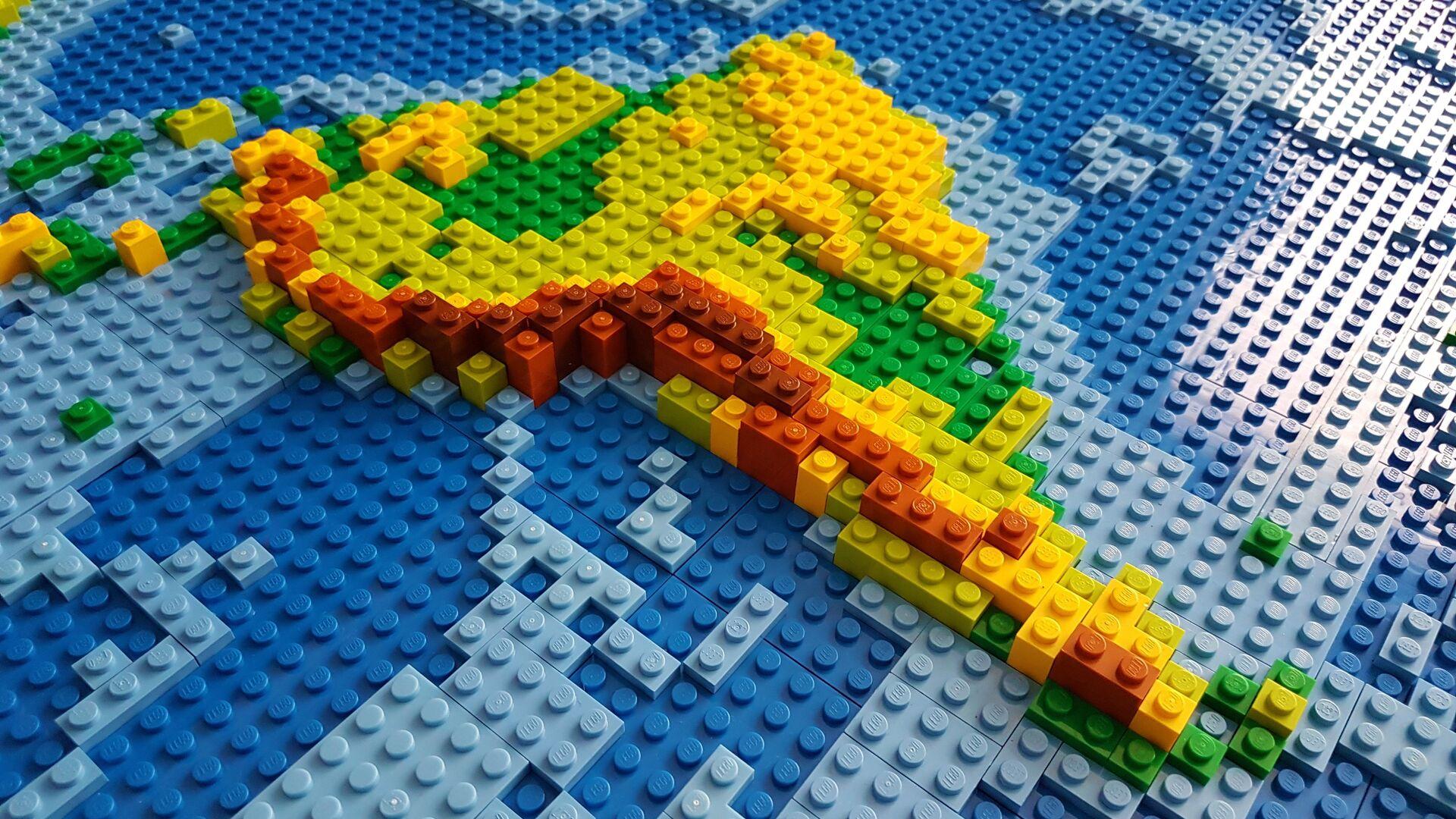 Mapa de América Latina, hecho con Lego (imagen referencial) - Sputnik Mundo, 1920, 08.10.2021