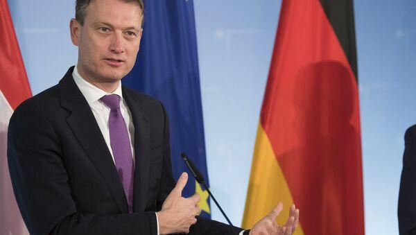 Halbe Zijlstra, el ministro de Asuntos Exteriores de Países Bajos (archivo) - Sputnik Mundo