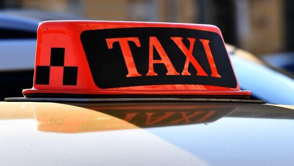 Taxi (imagen referencial) - Sputnik Mundo