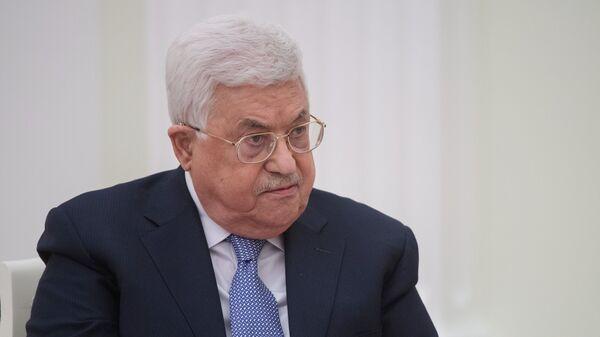 El presidente de la Autoridad Palestina, Mahmud Abás - Sputnik Mundo